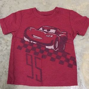 Disney Cars Toddler Shirt 2t